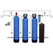 Системы очистки воды с наполнителем